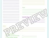 Printable List-er Home Organization Packet