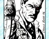 Terminator sketch card