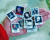 Custom Mini Polaroid Magnets, set of ten (made to order)-KRISTY WRACHFORD ONLY
