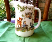 Vintage 1970s Bambi pitcher