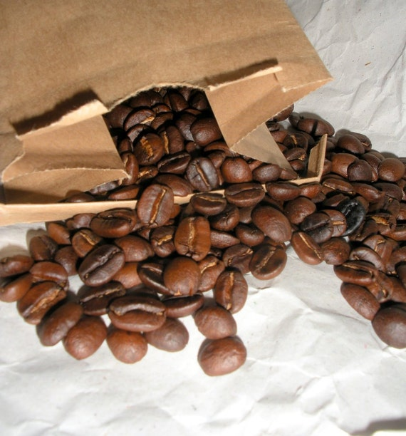Organic Roasted Coffee, Fair Trade, Hand Roasted, Small Batch 8 OUNCE, HALF pound