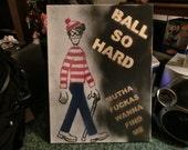 Where's Waldo Ball So Hard Graffiti Art Stencil Spray Paint Painting LARGE