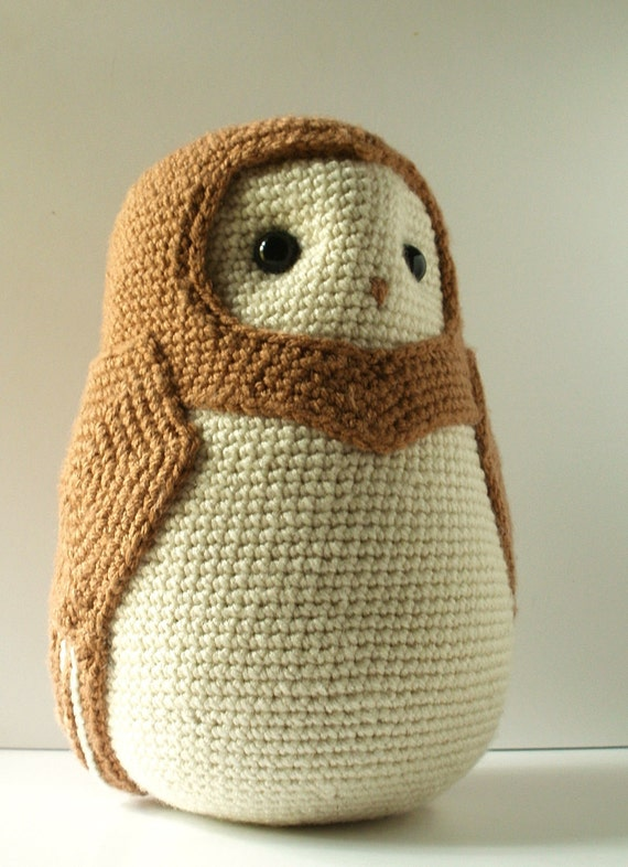 Alistar the Crochet Barn Owl