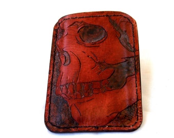 Hand Tooled Iphone, Ipod, Blackberry, Android, Samsung, Smartphone Case