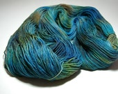 "RESERVED FOR HELEN Hand-painted Sock Yarn ""Australian"" Superwash Merino"
