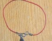 Unisex Kabbalah Red String with Silver Hamsa Hand Bracelet
