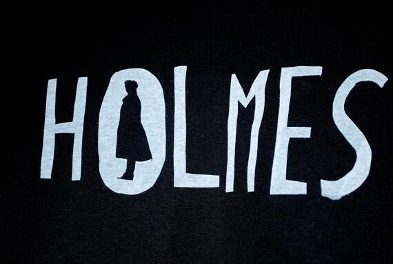 BBC Sherlock Holmes Silk-Screened Shirt