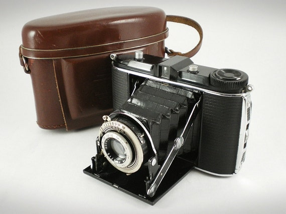 Agfa Jsorette - Rare Vintage 1930s Folding Camera