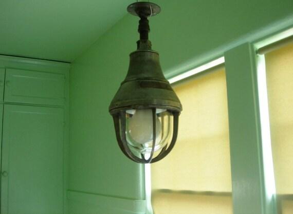 EXPLOSION PROOF LIGHTS - As Found  Original Vintage Crouse-Hinds Explosion Proof Lights