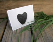 Cards Boxed Set Of 10 Black Berry Original Art With Envelopes Strawberry Heart Party Thank You Unique Original Art Photography