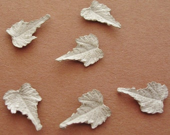 wild grape leaves sterling silver findings silversmith supplies UL014-6