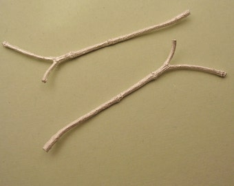 branches twigs sterling silver findings silversmith supplies UT009-2