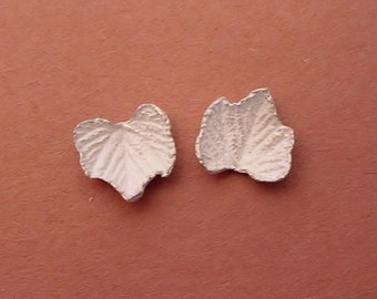 grape leaves cast raw silver silversmithing supplies UL017-2