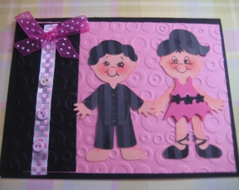 Twins Birhday Card, Fraternal Birthday Cards