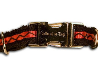 Designer Dog Collar / Custom Dog Collar Moulin Rouge Collection Small Collar