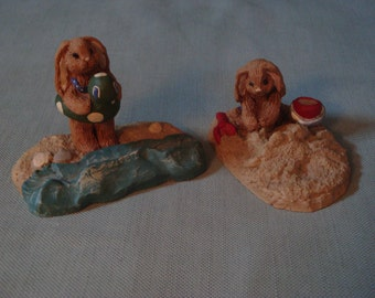 Carolyn Carpin, The Storybook Collection, Bunny Figurines
