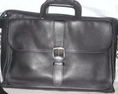 RESERVED-Large Vintage Leather Coach Briefcase and Laptop Bag