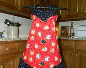 Black and Red Cups of Kindness Apron