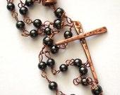 Prayer beads for Childhood Cancer Awareness