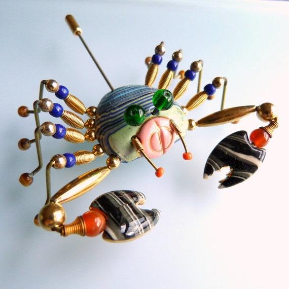 Cynthia Chuang - Jewelry 10 - Rare Crab Brooch Pin