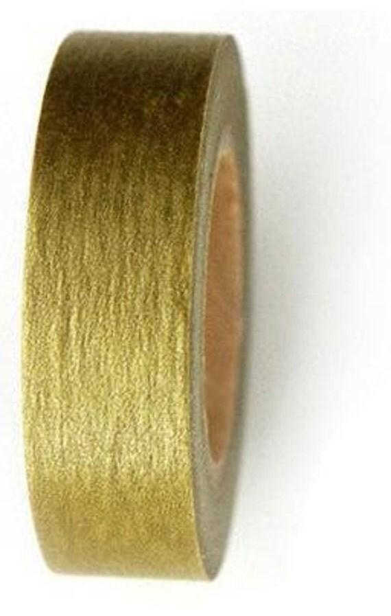 Japanese Washi Tape - Gold.