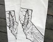 Natural Organic California Flour Sack Towels
