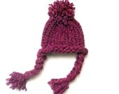 Sale Loom Knit Baby Hat for Newborn