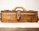 Handmade tool box