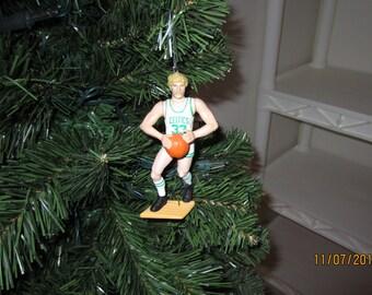 Larry Bird Boston Celtics custom basketball christmas sports ornament many to choose from.