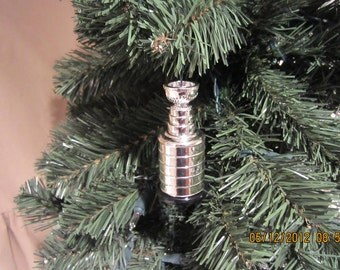 Stanley Cup Hockey  NHL Christmas ornament Cake Topper?