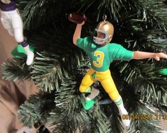 Joe Montana Notre Dame SEE DESCRIPTION custom football  sports ornament many to choose from
