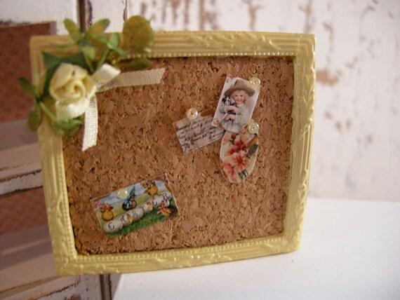 dollhouse cork board