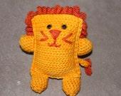 Amigurumi Crochet Lion