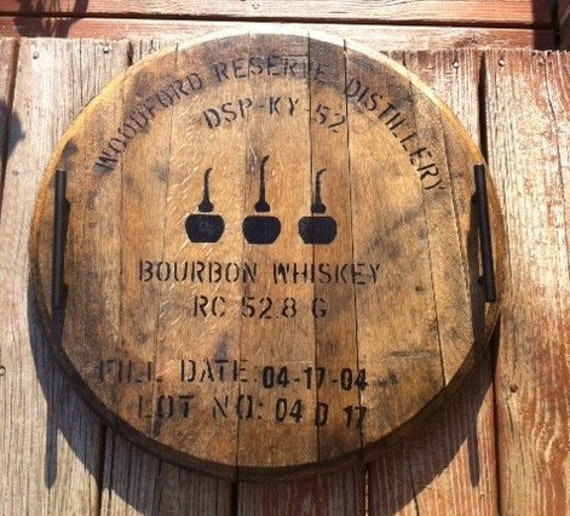 Woodford Reserve Bourbon Barrel Serving Tray By Kybarrel
