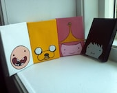 Adventure Time Painted Magnets