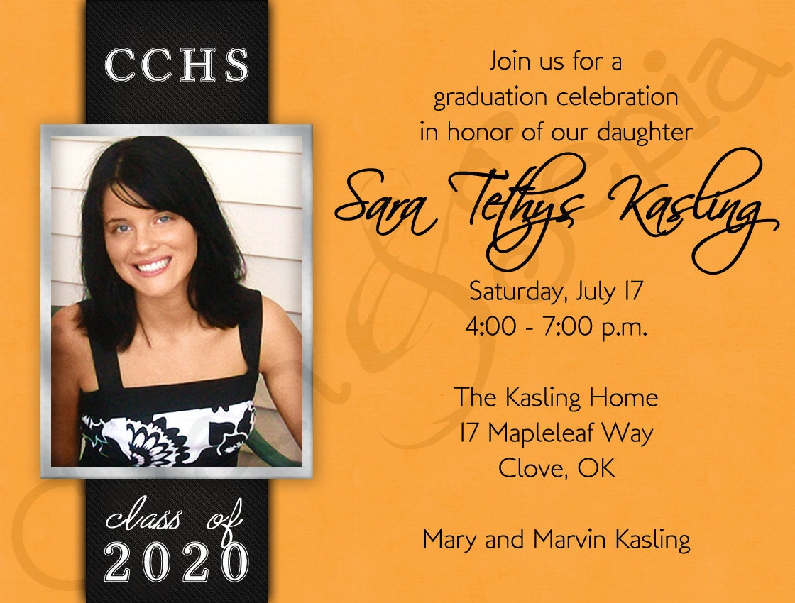Grad Party Invites Templates for luxury invitations design