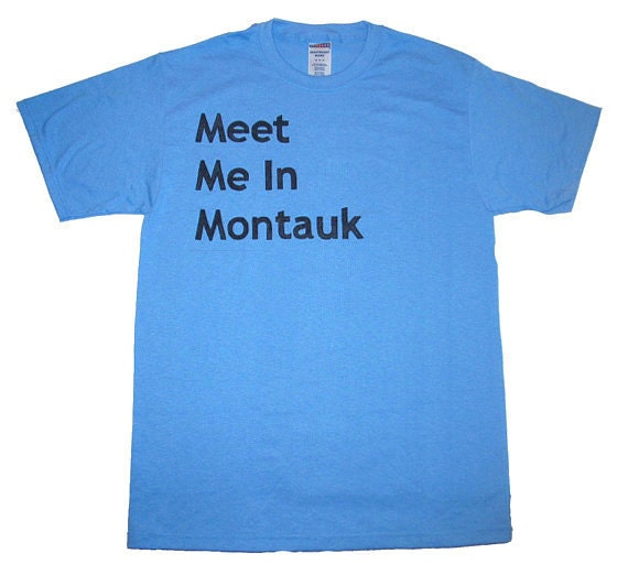 meet me in montauk tee shirt