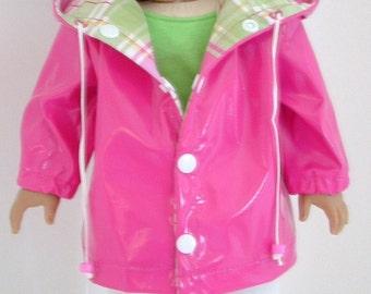 Hot Pink Rain Jacket