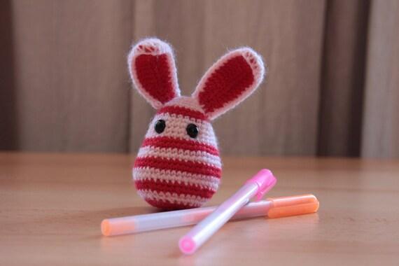 RESERVED for Jaydeedwa - Bee like Bunny (crocheted rabbit)
