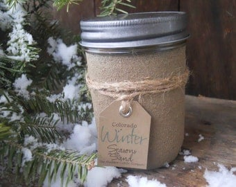 Colorado Winter Soy Candle Seasons In The Sand December Gift Holiday Christmas Ski Memories