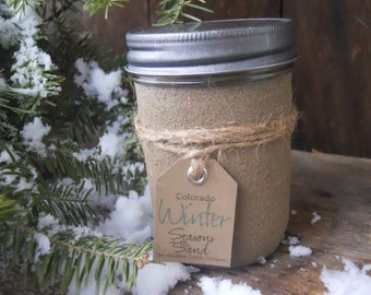 Colorado Winter Soy Candle Seasons In The Sand December January March Ski Memories