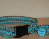 Custom Dog Collar and Matching Survival Bracelet