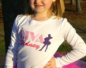 Personalized Dancing Diva Tutu Set YOU Choose COLORS