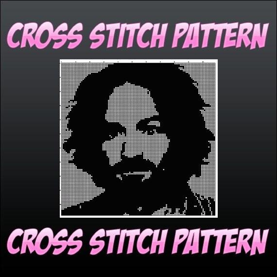Cross Stitch Pattern - Sir Charles Manson