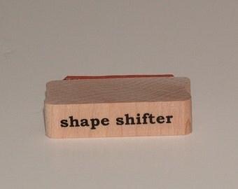 SHAPE SHIFTER Rubber Art Stamp