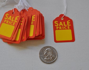 Colorful Sale Price Tags Lot of 30 FREE SHIPPING
