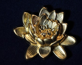 ONE Big Fat Lotus Flower Decorative Element SHIPPING INCLUDED