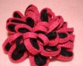 Felt hair bows on clips and headbands