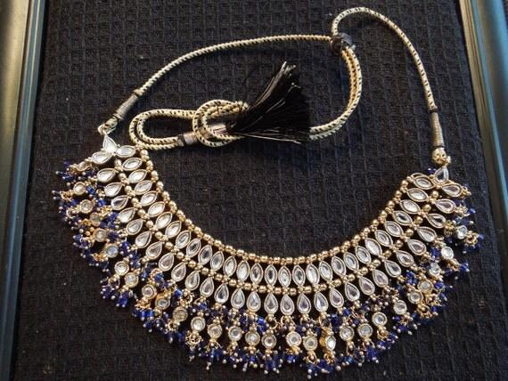 Vintage Belly Dancer Jewelry Set.  Matching Necklace, Bracelet, Earrings.  Superior Set