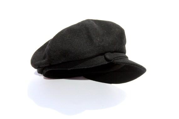 40% OFF Borsalino Black Hat  Vintage Cap  Borsalino Hat  Original Borsalino Hat  Made in Italy